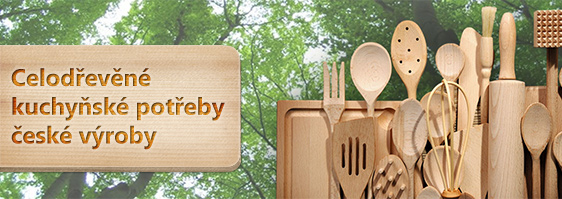 Kvalitní kuchyňské potřeby z bukového dřeva od Firmy Dřevotvar.