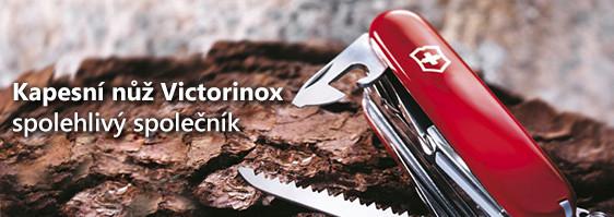 Kapesní nože Victorinox - spolehlivé švícarské nože s mnoha užitečnými funkcemi. S nožem Victorinox si poradíte v každé situaci!