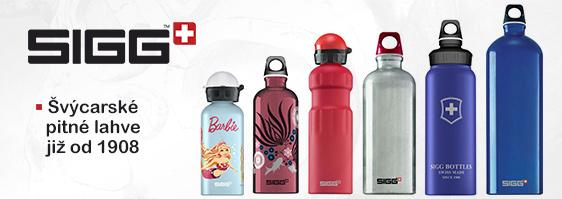 Pitné lahve Sigg to je zárku poctivé švýcarské kvality