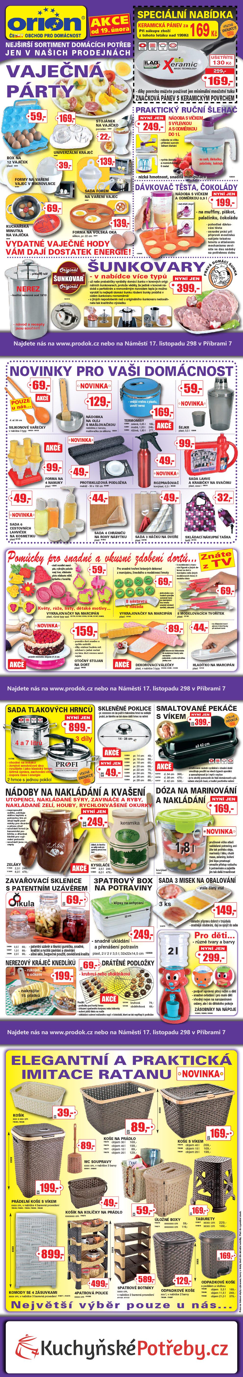 Akční zboží od 18. února 2014