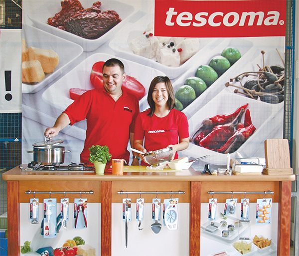 Promo tým Tescoma foto