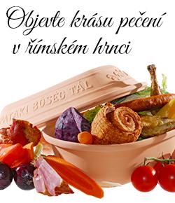 Objevte jedinečnou chuť zdravého pečení v římském hrnci!