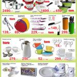 Leták se zajímavým akčním zbožím - nakupte značkové i neznačkové produkty za bezva ceny