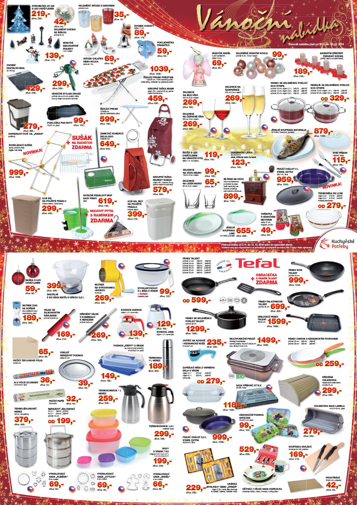 Akční vánoční zboží - nakupte vánoční dekorace a dárky nejlevněji!