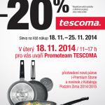 Akce Tescoma - Promoteam předvede nové pánve a novinky od Tescomy + 20% sleva na vše neakční po celý týden