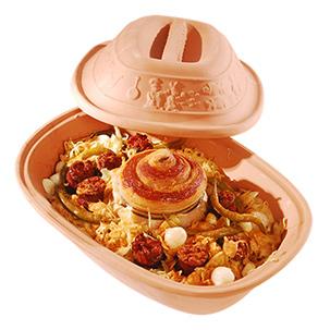Vařte zdravě v římském hrnci