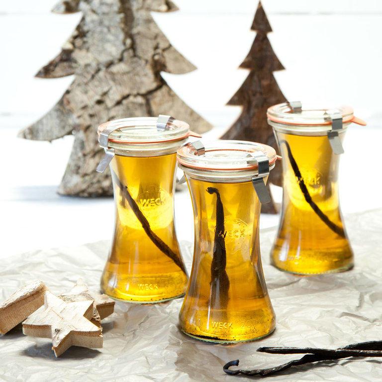Tip na dárek - vodka ve sklenicích Weck