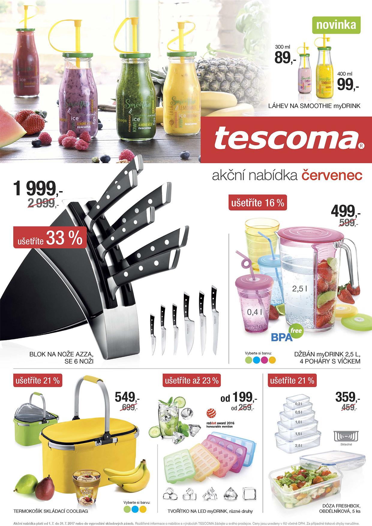 Tescoma akční nabídka na červenec 2017